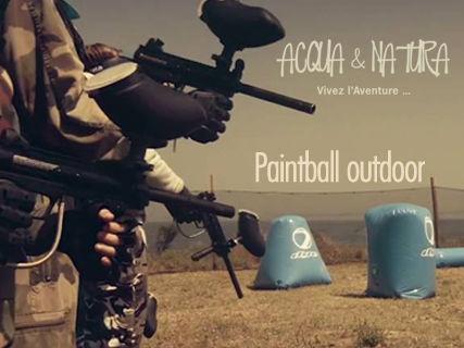 Paint Ball outdoor au Parc de la Solenzara
