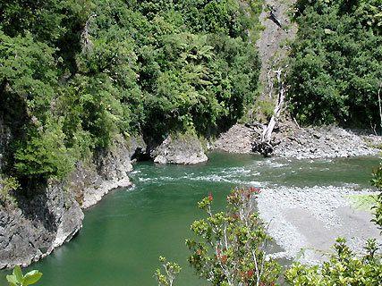 Waiohine River Gorge