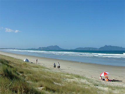 Uretiti Beach DOC Campsite