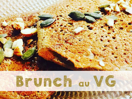 Brunch at the VG, saturday 12-3pm