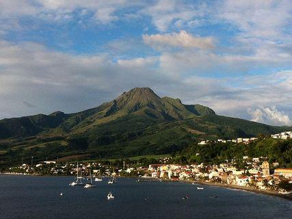 La Montagne Pelée, volcan de la Martinique
