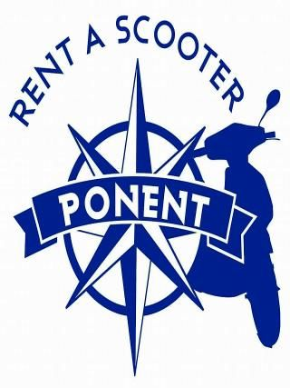 Rent a scooter Ponent