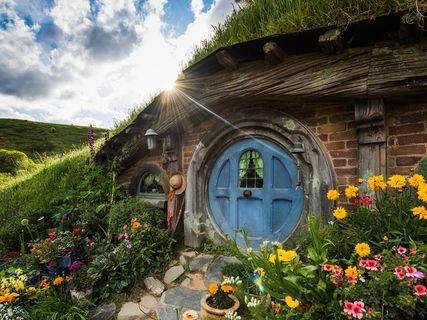 Hobbiton le village des Hobbits