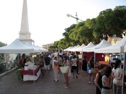 Mercado artesano de Ciutadella