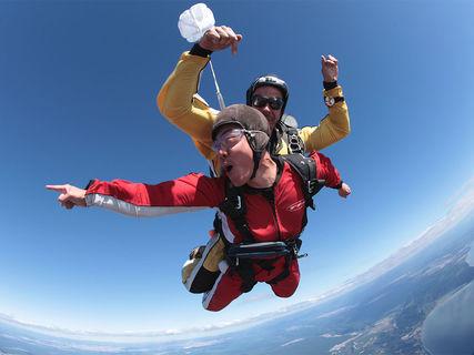 Taupo Tandem Skydiving