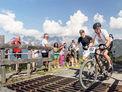 Buchensteinwand Mountainbikerennen und Berglauf