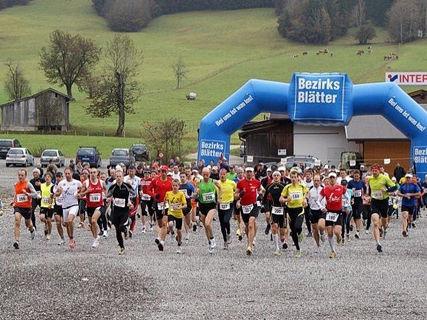 Pillerseer Halbmarathon - Crosslauf rund um die Buchensteinwand