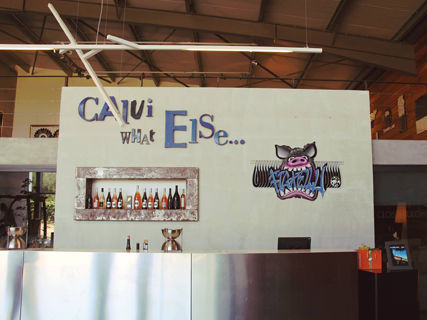 Wine tasting and exhibition at the Clos Culombu